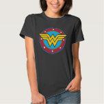 Wonder Woman Circle & Stars Logo Shirts