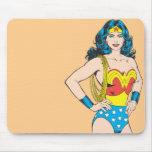 Wonder Woman Portrait Mouse Pad
