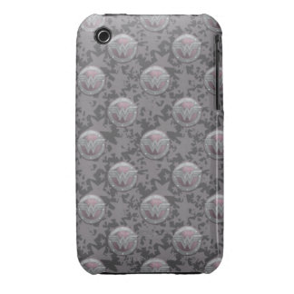 Wonder Woman Shield Pattern Case-Mate iPhone 3 Cases
