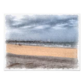 Wonderful beach photo print