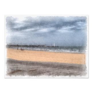 Wonderful beach photographic print