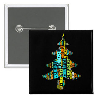 Wonderful Counselor Mighty God Prince of Peace 15 Cm Square Badge