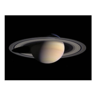Wonderful Saturn Picture from NASA Postcard