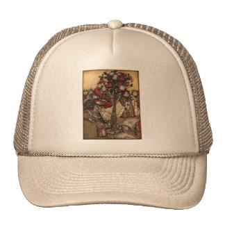 Wonderland Roses Cap