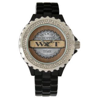Wood Choppin' Time Logo Watch