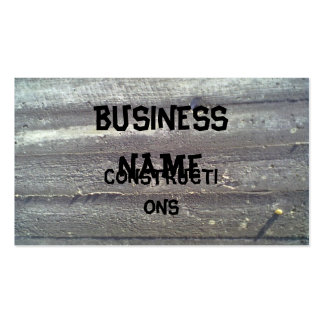 Wood wall pack of standard business cards