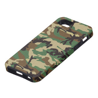 Woodland Camouflage iPhone 5 Cover
