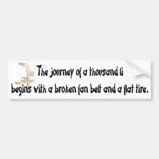 Words of Wisdom 3 Bumper Sticker
