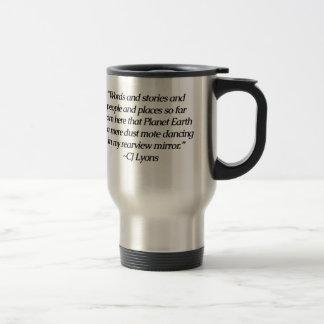 Words Transport Us...Mug Stainless Steel Travel Mug
