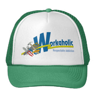 Workaholic Respectable Addiction Cap
