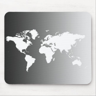 WORL MAP MOUSE PAD