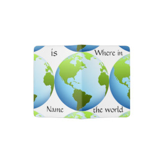 World Map Where In The World Personalized
