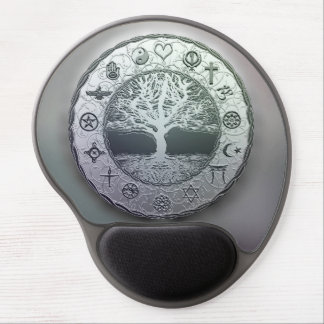World Religions Tree of Life Gel Mouse Pad