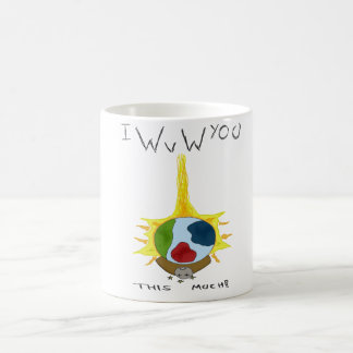 World vs world basic white mug