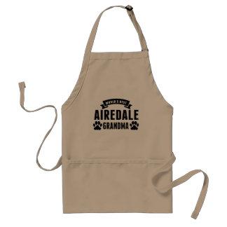 World's Best Airedale Grandma Standard Apron