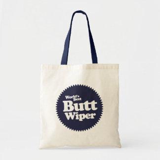 World's Best Butt Wiper Nurse CNA RNA Budget Tote Bag