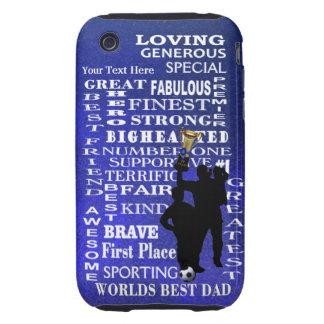 Worlds Best Dad 3G/3GS TOUGH iPhone Case