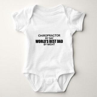 World's Best Dad by Night - Chiropractor Tees