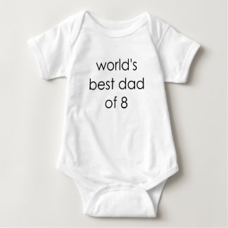 worlds best dad of 8.png tshirt