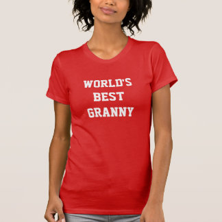 WORLD'S BEST GRANNY T SHIRTS