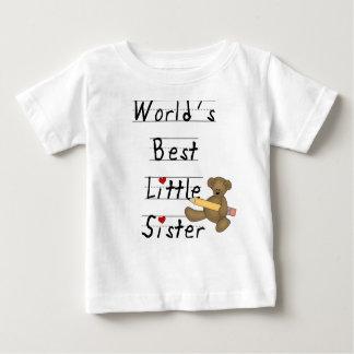 World's Best Little Sister Infant T-Shirt