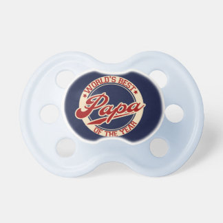 World's Best Papa Baby Pacifier
