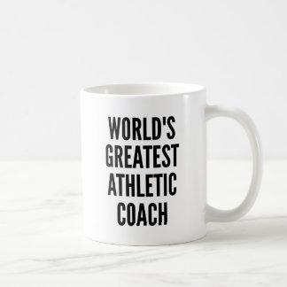 Worlds Greatest Athletic Coach Basic White Mug