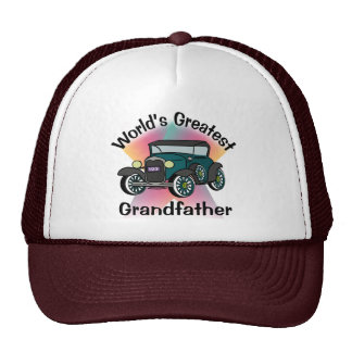 Worlds Greatest Grandfather Cap
