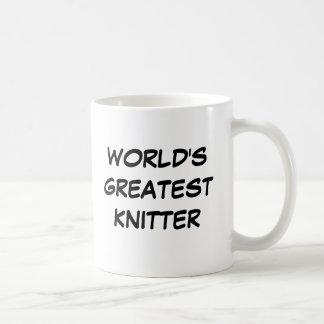 """World's Greatest Knitter"" Mug"