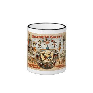 World's Greatest Performing Monkeys 1892 Ringer Mug
