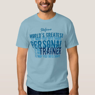 Worlds Greatest Personal Trainer Funny  A009E Tees
