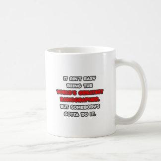 World's Greatest Radiographer Joke Basic White Mug