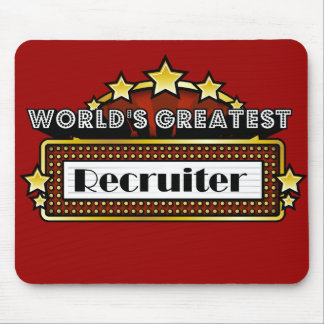 World's Greatest Recruiter Mouse Pad