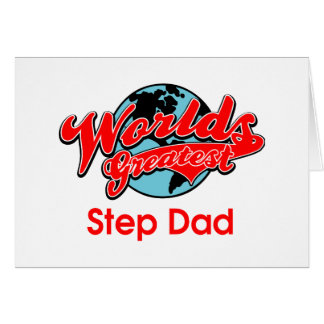 World's Greatest Step Dad Greeting Card