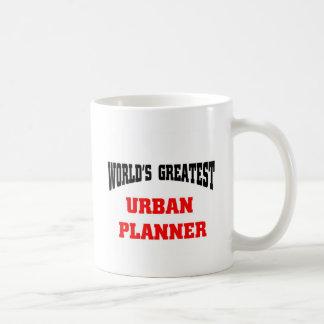 World's greatest urban planner basic white mug