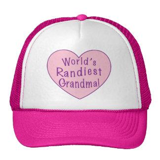 World's Randiest Grandma Cap