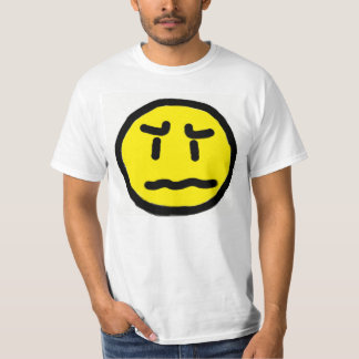 worried face shirts