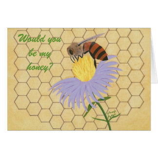 Would you be my honey, Bee Marriage Proposal Card