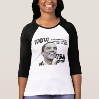 Wow-is one of our favorite verbs. And game? Shirt