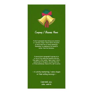 Wreath and Bells Custom Rack Cards