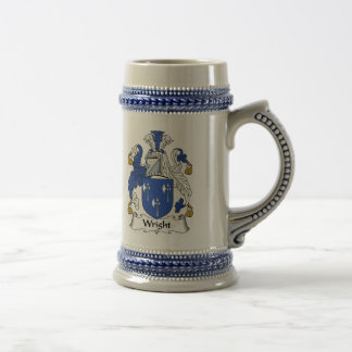 Wright Coat of Arms Stein - Family Crest Beer Steins