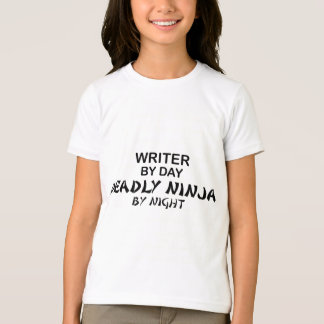Writer Deadly Ninja by Night Shirt