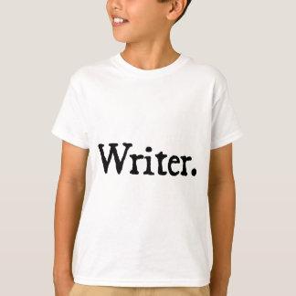 Writer. Tee Shirts