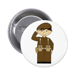 WW2 British Army Private Badge