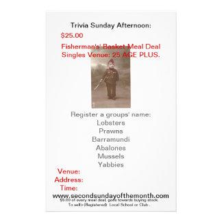 www.secondsundayofthemonth.com, Tri... 14 Cm X 21.5 Cm Flyer