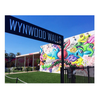 Wynwood Walls, Miami Postcard