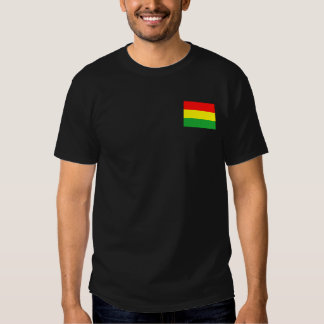 Wyoming in Rasta Colors T-shirts