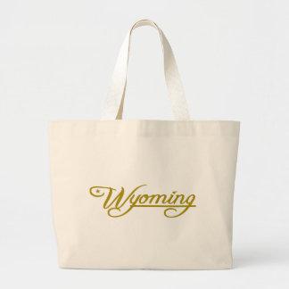 Wyoming (State of Mine) Jumbo Tote Bag