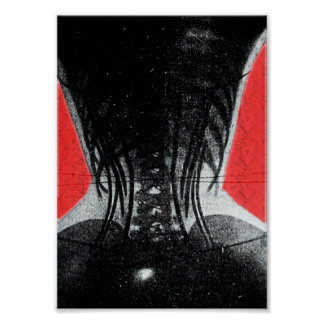 X-Ray Of Woman In A Corset Poster