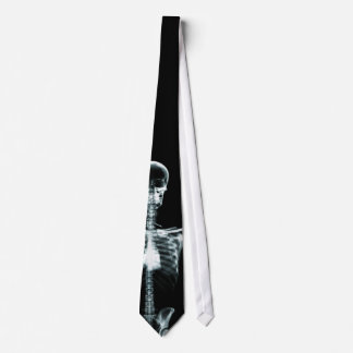 X-Ray Vision Single Skeleton Neck Tie